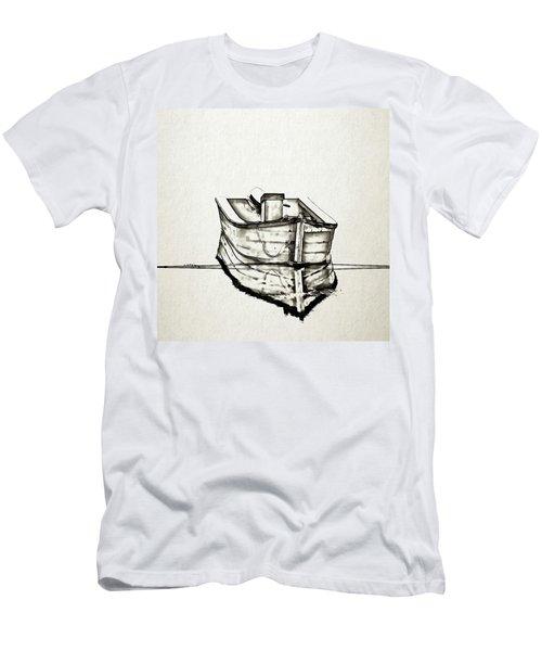 Ink Boat Men's T-Shirt (Athletic Fit)