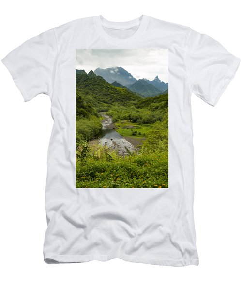 Inside The Crater Men's T-Shirt (Athletic Fit)