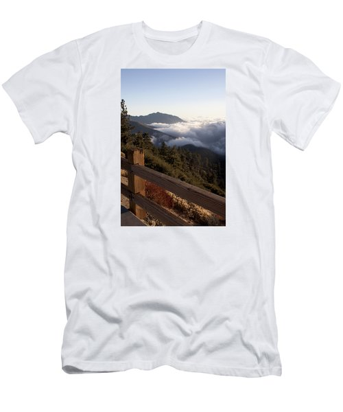 Inspiration Point Men's T-Shirt (Slim Fit) by Ivete Basso Photography