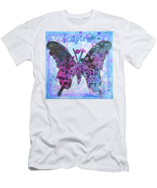Inspire Butterfly Men's T-Shirt (Athletic Fit)