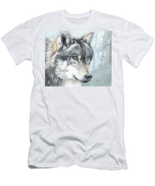 Intent Eyes Men's T-Shirt (Athletic Fit)