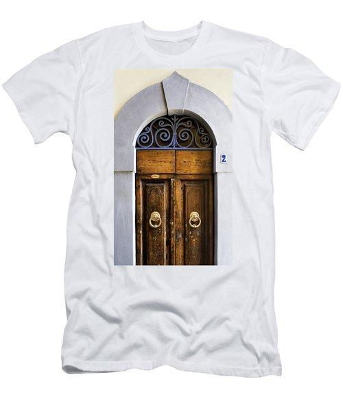 Interesting Door Men's T-Shirt (Athletic Fit)