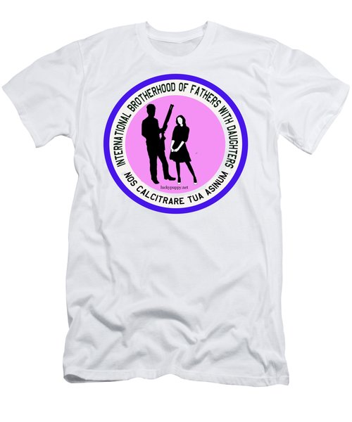 International Brotherhood Of Fathers With Daughters Men's T-Shirt (Athletic Fit)