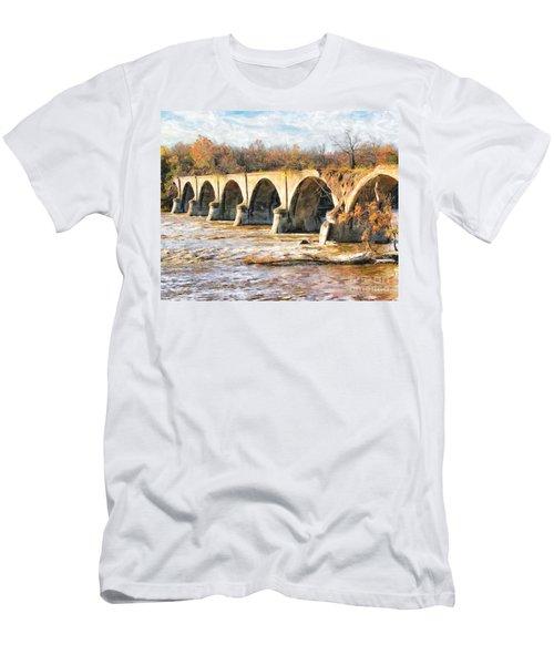 Interurban Bridge Men's T-Shirt (Athletic Fit)