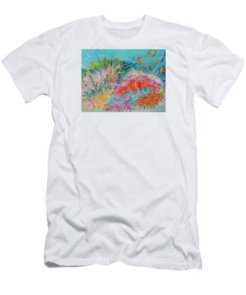 Feeding Time # 3 Men's T-Shirt (Slim Fit) by Lyn Olsen