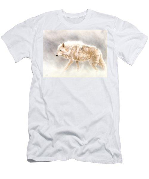 Into The Mist Men's T-Shirt (Slim Fit) by Sandi Baker