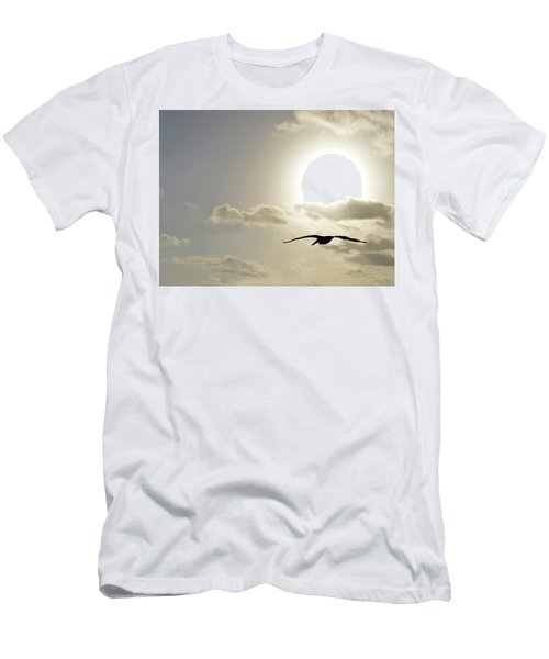 Into The Sun Men's T-Shirt (Slim Fit) by Sebastien Coursol