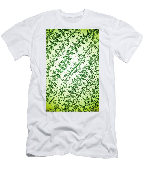 Into The Thick Of It, Green Men's T-Shirt (Athletic Fit)