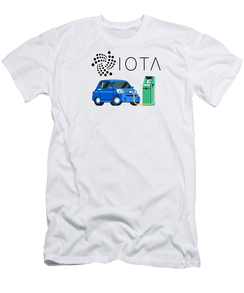 Iota Electric Charger Men's T-Shirt (Athletic Fit)