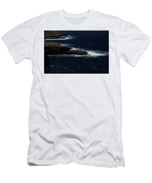 Ireland Inishmore Aran Island Coastal Landscape Men's T-Shirt (Athletic Fit)