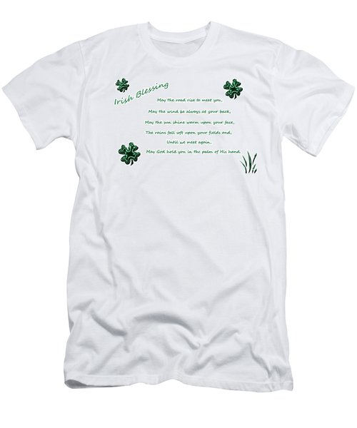 Irish Blessing 2 Men's T-Shirt (Athletic Fit)