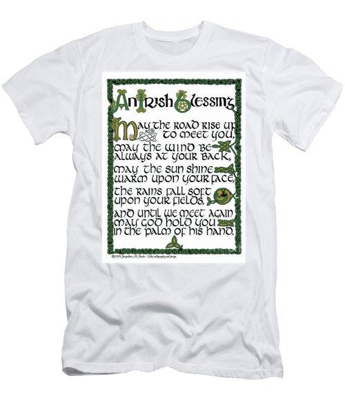 Irish Blessing Men's T-Shirt (Athletic Fit)