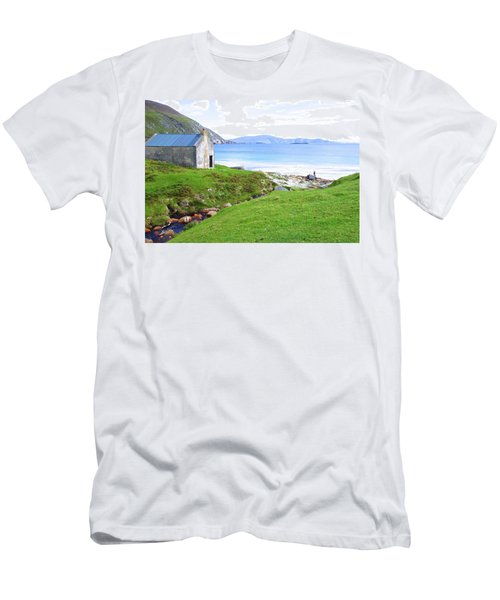 Irish Treasures.. Past And Present Men's T-Shirt (Slim Fit) by Charlie and Norma Brock