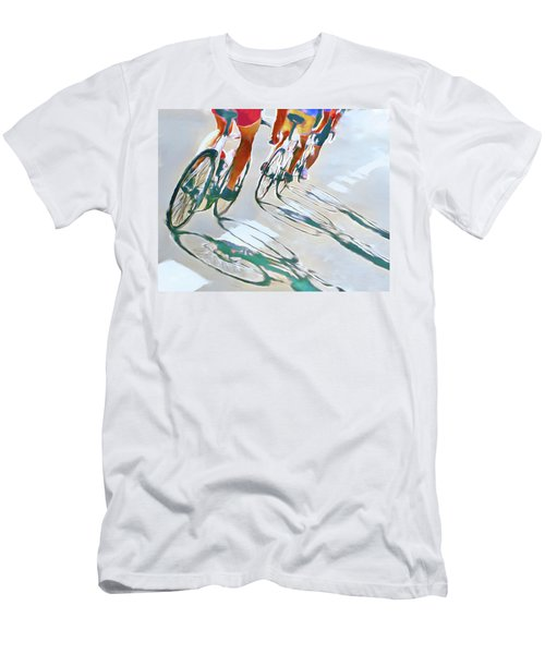 Iron Man Triathlon Men's T-Shirt (Athletic Fit)
