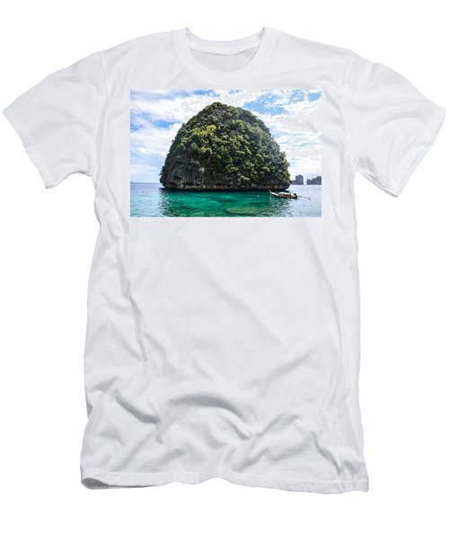 Island Men's T-Shirt (Athletic Fit)