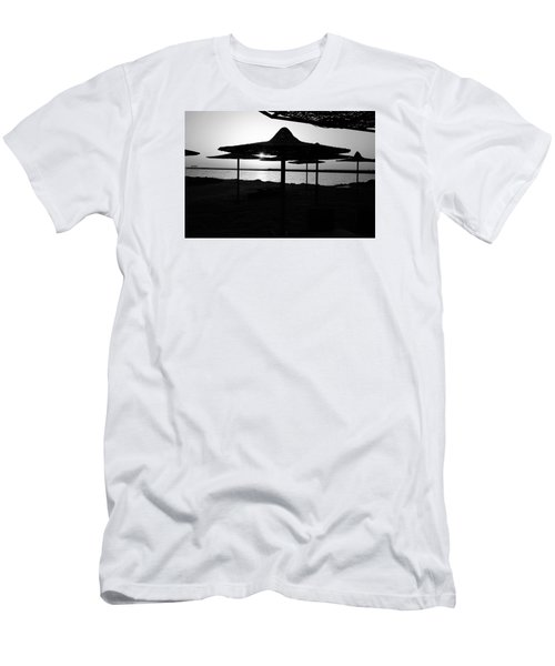 Men's T-Shirt (Slim Fit) featuring the photograph It Can Be Done by Jez C Self