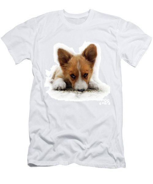 It Wasn't Me Corgi Men's T-Shirt (Athletic Fit)