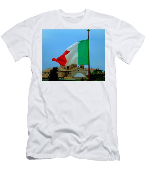 Italian Colors Men's T-Shirt (Athletic Fit)