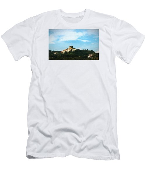 Men's T-Shirt (Slim Fit) featuring the photograph Italian Countryside by Kathleen Scanlan