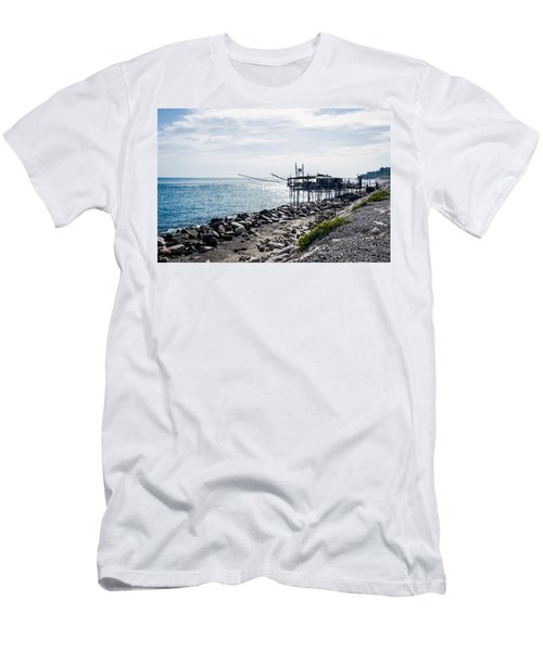 Italy - The Trabocchi Coast 2  Men's T-Shirt (Athletic Fit)