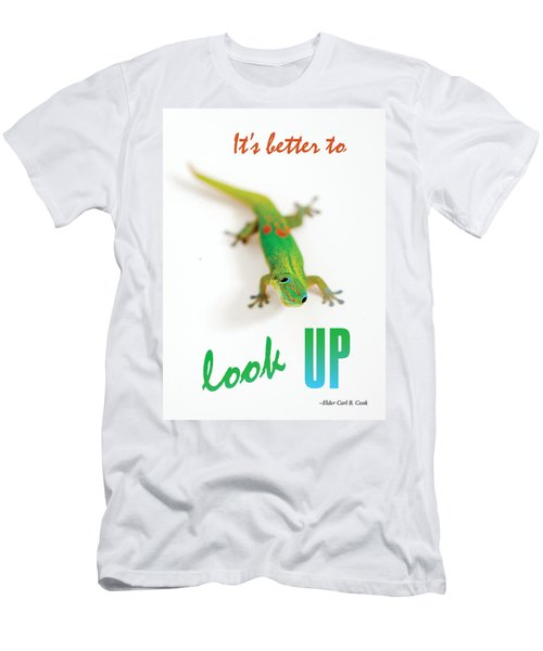 Its Better To Look Up Men's T-Shirt (Athletic Fit)