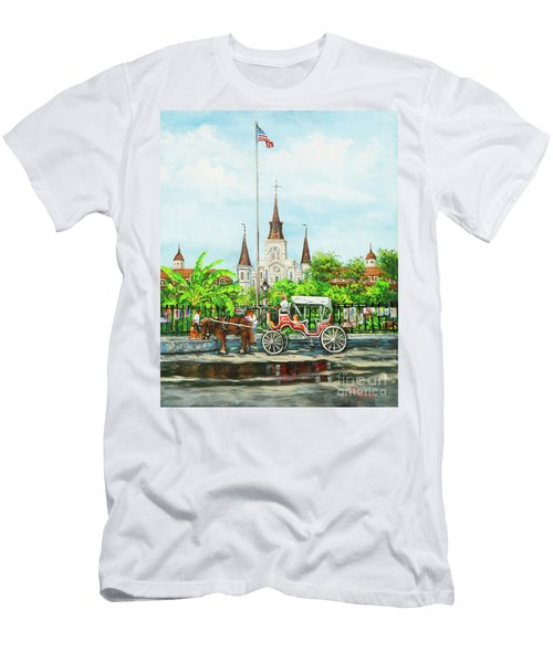 Jackson Square Carriage Men's T-Shirt (Athletic Fit)