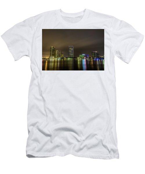 Jacksonville Landing Men's T-Shirt (Athletic Fit)