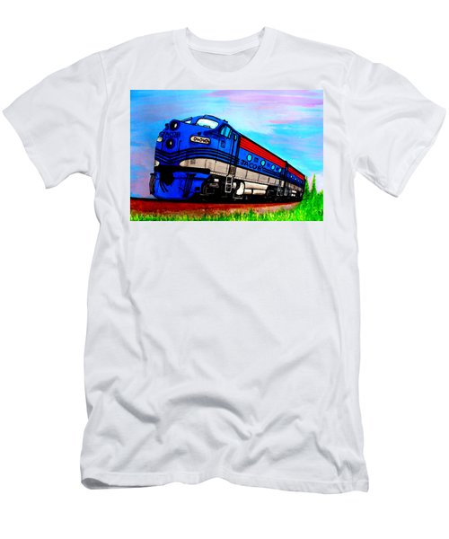 Jacob The Train Men's T-Shirt (Athletic Fit)