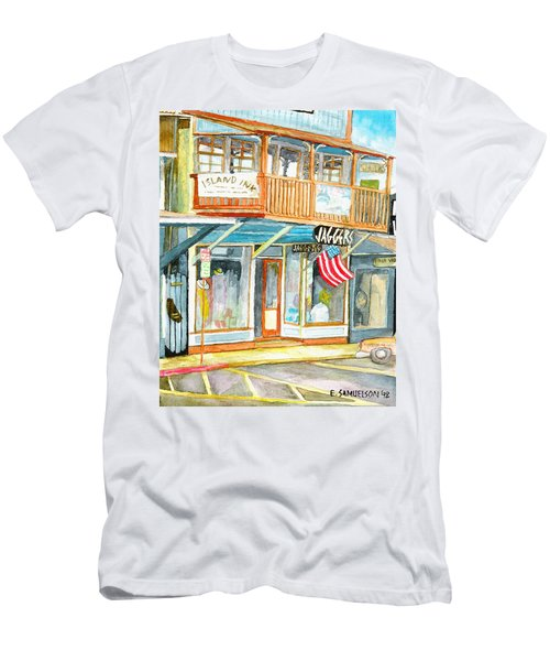 Jaggers Men's T-Shirt (Slim Fit) by Eric Samuelson