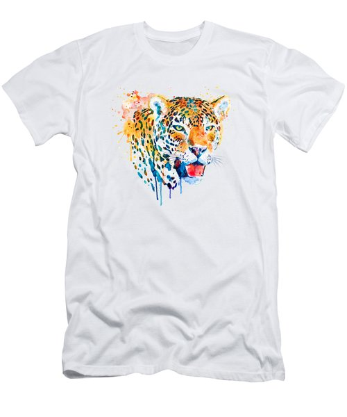 Jaguar Head Men's T-Shirt (Athletic Fit)
