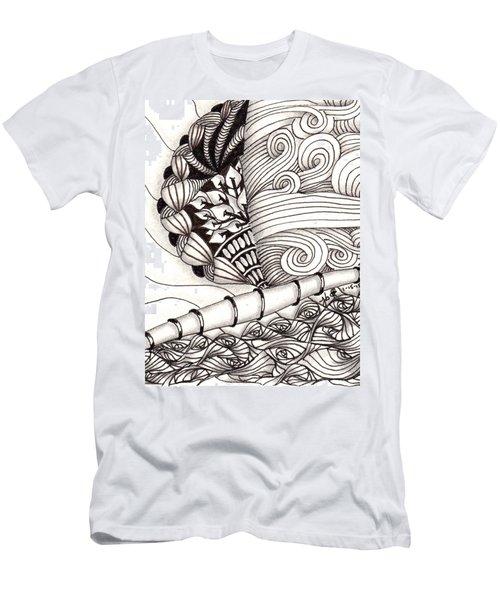 Jamaican Dreams Men's T-Shirt (Slim Fit) by Jan Steinle