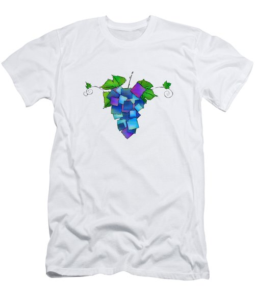 Jamurissa - Square Grapes Men's T-Shirt (Slim Fit) by Cersatti