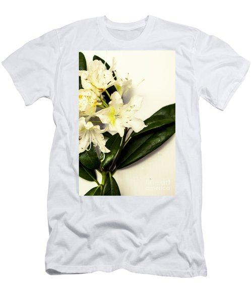 Japanese Flower Art Men's T-Shirt (Athletic Fit)