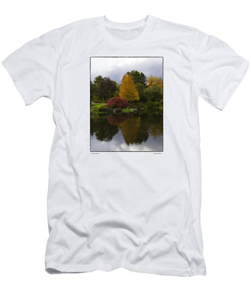 Japanese Garden Men's T-Shirt (Slim Fit) by R Thomas Berner