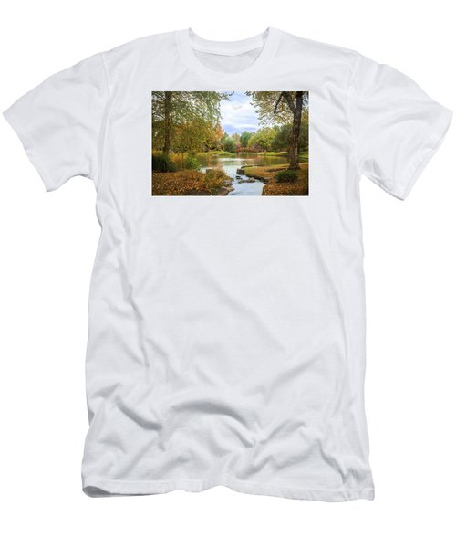 Japanese Garden View Men's T-Shirt (Athletic Fit)