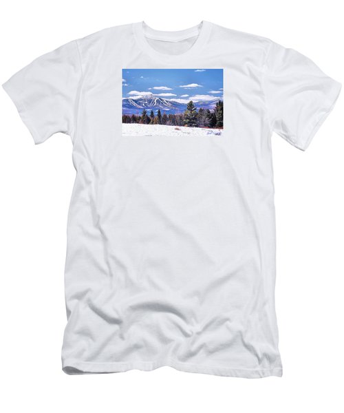 Jay Peak Men's T-Shirt (Slim Fit) by John Selmer Sr