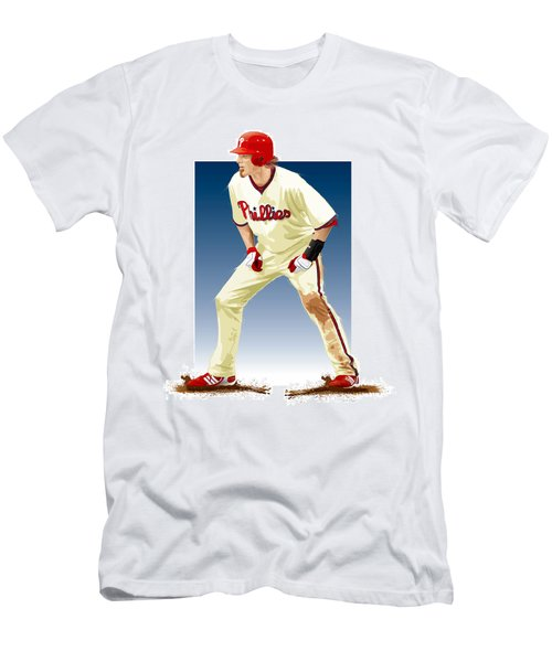 Jayson Werth Men's T-Shirt (Slim Fit) by Scott Weigner