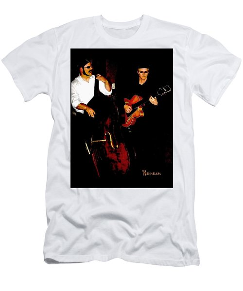 Jazz Musicians Men's T-Shirt (Athletic Fit)