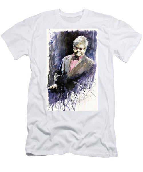 Jazz Sir Elton John Men's T-Shirt (Athletic Fit)