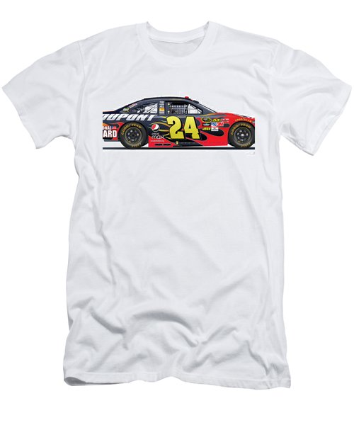 Jeff Gordon Nascar Image Men's T-Shirt (Athletic Fit)