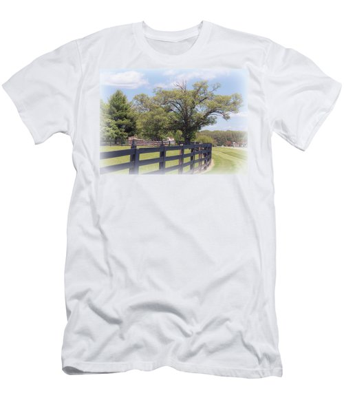 Jefferson Landing Series No. 1 Men's T-Shirt (Slim Fit) by Laura DAddona