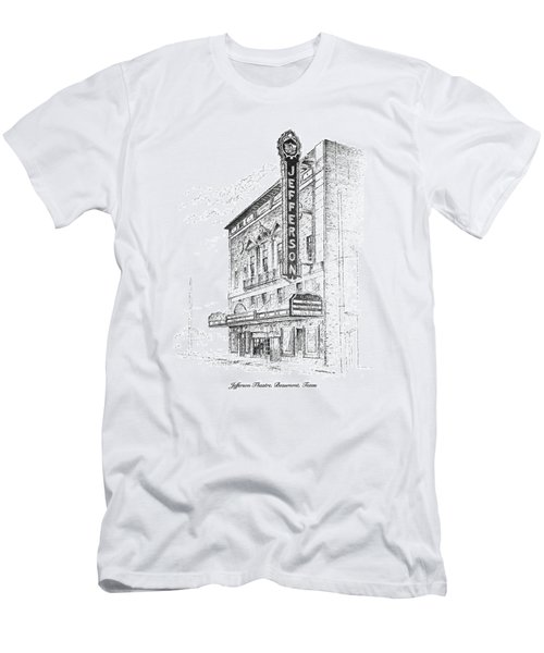 Jefferson Theatre Men's T-Shirt (Athletic Fit)