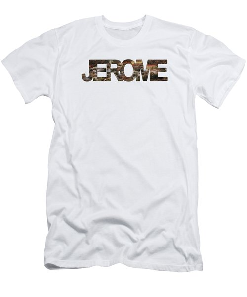 Jerome Men's T-Shirt (Slim Fit) by Priscilla Burgers