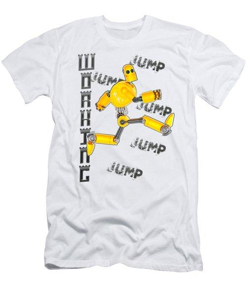 Jesus The Wave Men's T-Shirt (Athletic Fit)