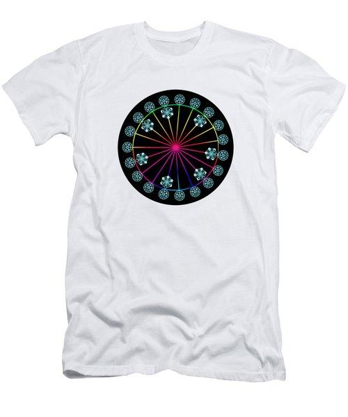 Jewish Calendar Men's T-Shirt (Athletic Fit)