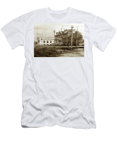Jim Bardin Hospital The Hospital Was Located On The E Side Of Main Street  Circa 1910 Men's T-Shirt (Athletic Fit)