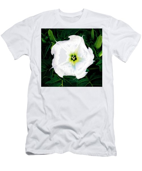 Men's T-Shirt (Athletic Fit) featuring the photograph Jimson Weed #1 by Lou Novick