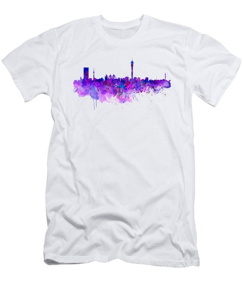 Johannesburg Skyline Men's T-Shirt (Athletic Fit)
