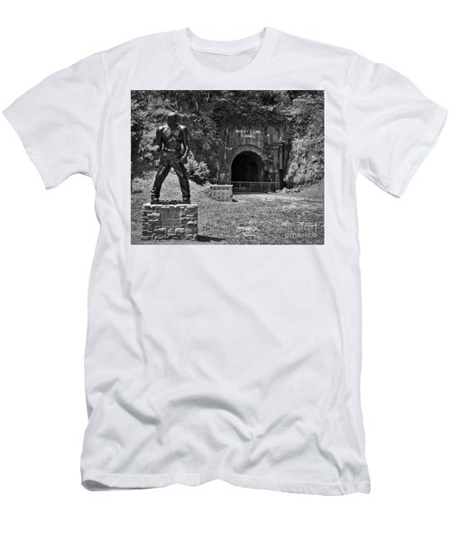 John Henry - Steel Driving Man Men's T-Shirt (Athletic Fit)