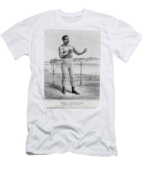 John L. Sullivan (1858-1918) Men's T-Shirt (Athletic Fit)